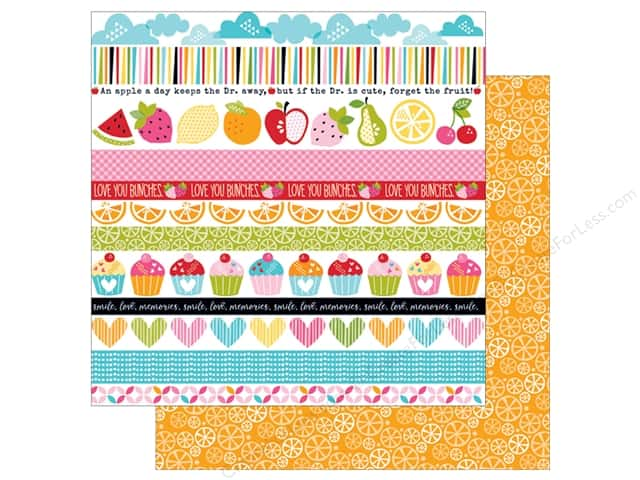 Bella Blvd 12 x 12 in. Paper Fresh Market Borders (25 sheets)