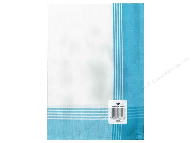 "Dunroven House Towel 20""x 28"" McLeod No Stripe Turquoise"