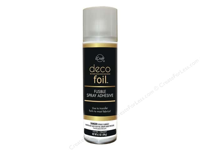iCraft Deco Foil Adhesive Fusible Spray 6.5oz