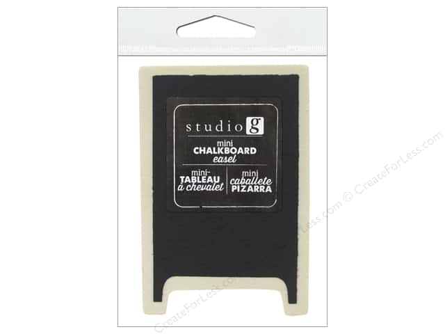 Studio G Chalkboard Easel 2 x 3 in. (24 pieces)