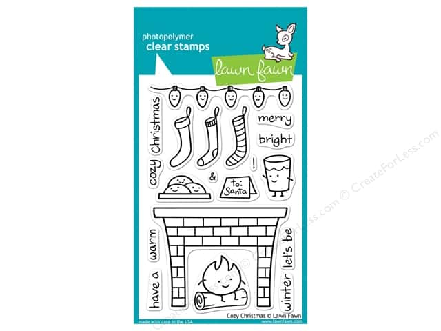 Lawn Fawn Clear Stamp Cozy Christmas