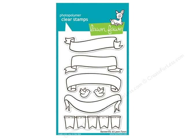 Lawn Fawn Clear Stamp Bannerific
