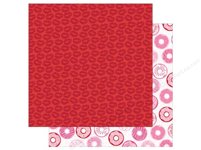 Bella Blvd 12 x 12 in. Collection Kit Valentina Let's Kiss (25 sheets)