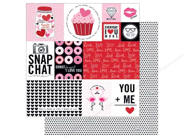 Bella Blvd 12 x 12 in. Paper Valentina Daily Details (25 sheets)