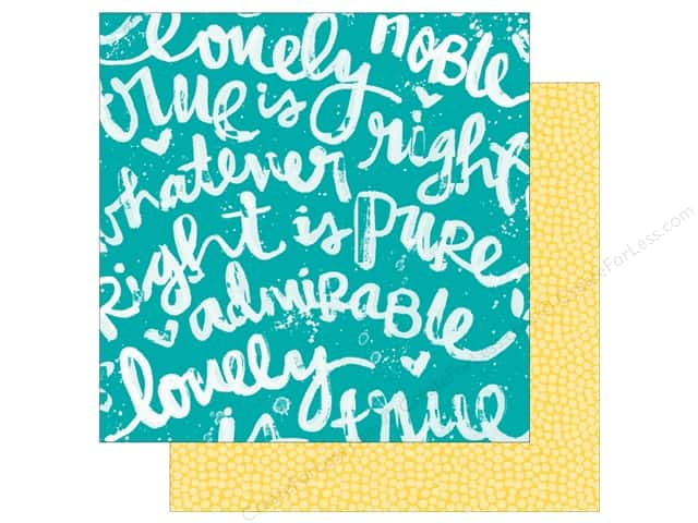 Bella Blvd 12 x 12 in. Paper Illustrated Faith Whatever Is Lovely Praiseworthy (25 sheets)