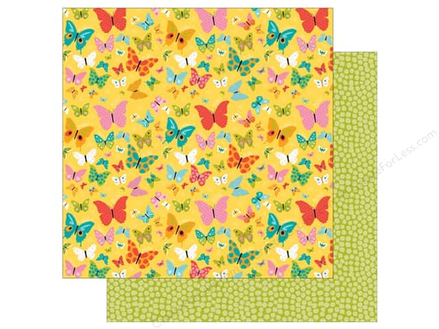 Bella Blvd 12 x 12 in. Paper Illustrated Faith Whatever Is Lovely Lovely (25 sheets)