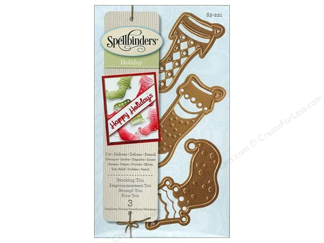 Spellbinders D-Lites Die Stocking Trio