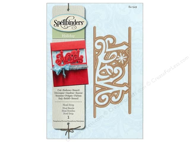 Spellbinders Shapeabilities Die Noel Deco Strip