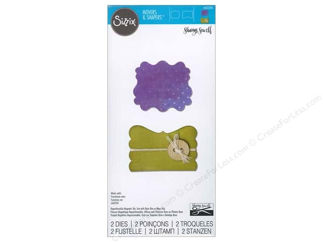 Sizzix Movers & Shapers Dies Door & Label by Sharyn Sowell