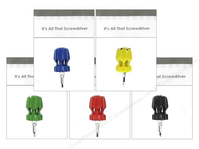 Graphic Impressions Tool It's All That Screwdriver Assorted