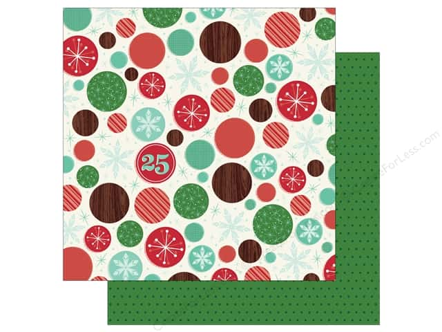 American Crafts 12 x 12 in. Paper Shimelle Christmas Magic Wonder (25 sheets)