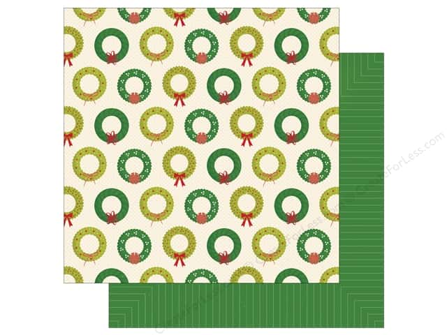 American Crafts 12 x 12 in. Paper Shimelle Christmas Magic Bright (25 sheets)