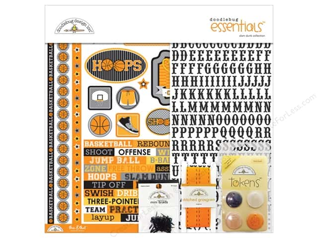 Doodlebug Essentials Kit Slam Dunk