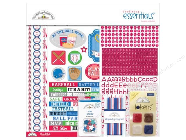 Doodlebug Essentials Kit Home Run