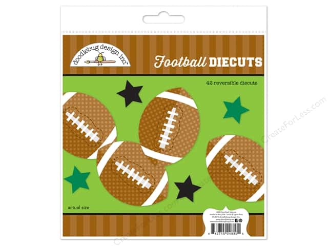 Doodlebug Collection Touchdown Die Cut Kit
