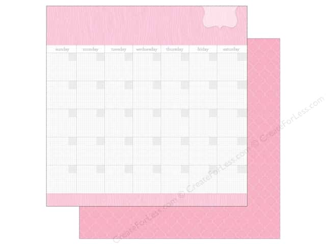 Doodlebug 12 x 12 in. Paper Daily Doodles Cupcake (25 sheets)