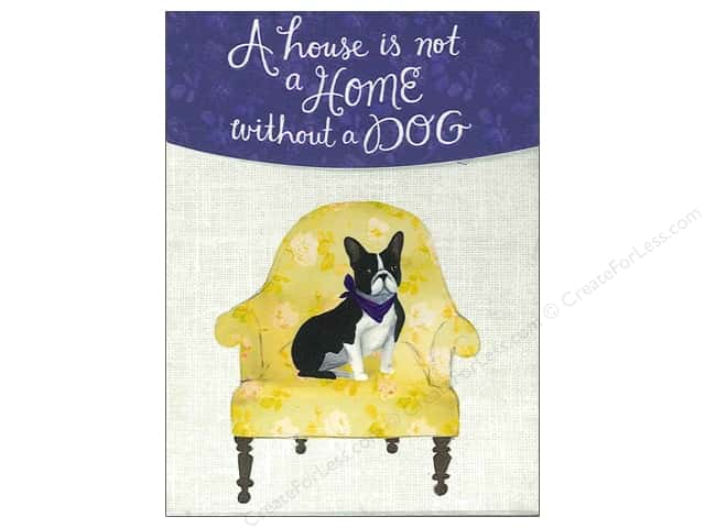 Molly & Rex Pocket Note Pad Yellow Chair Frenchie