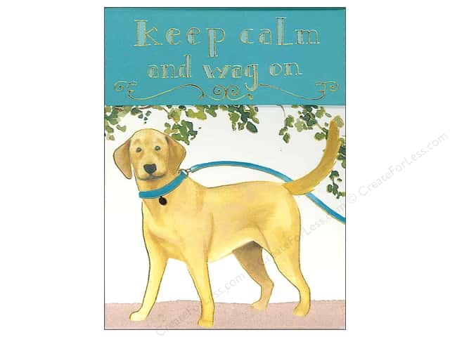 Molly & Rex Pocket Note Pad Keep Calm Lab