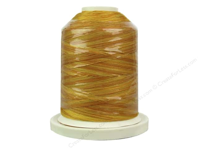 Signature 100% Cotton Thread 700 yd. #76 Brassy Yellows