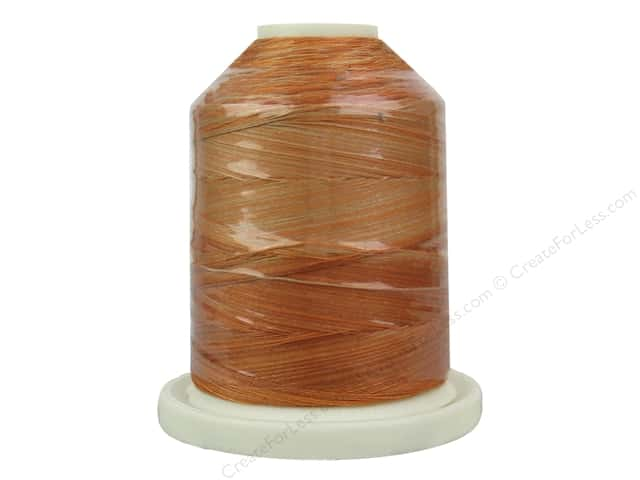 Signature 100% Cotton Thread 700 yd. #M77 Variegated Peachy Tones