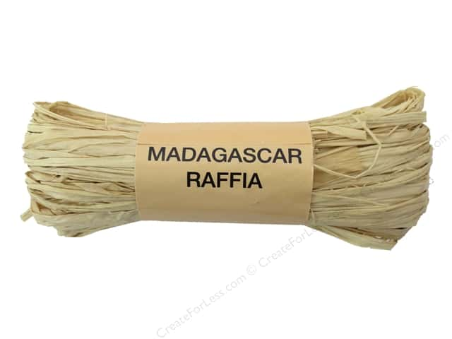 Darice Raffia Madagascar Natural 1oz