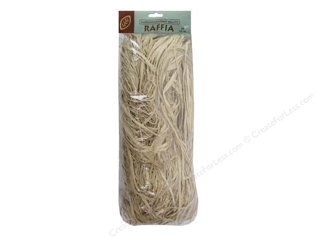 JMS Raffia Fancy Flat Natural 250 cu in
