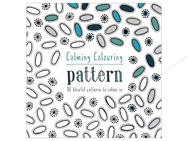 Batsford Calming Coloring Patterns Book