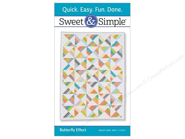 That Patchwork Place Sweet & Simple Butterfly Effect Pattern