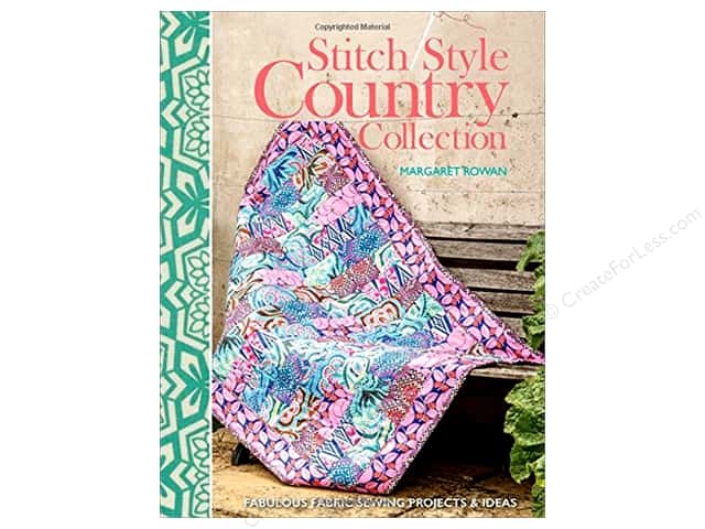 David & Charles Stitch Style Country Collection Book by Margaret Rowan