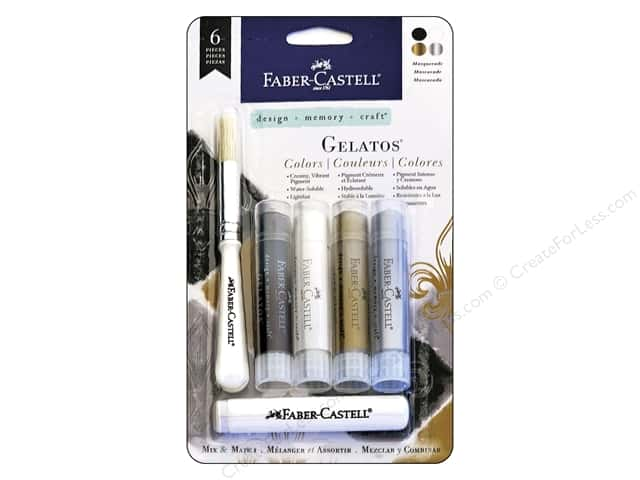FaberCastell Gelatos Mix & Match Set Masquerade