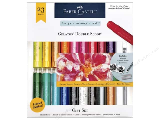 FaberCastell Gelatos Double Scoop Gift Set