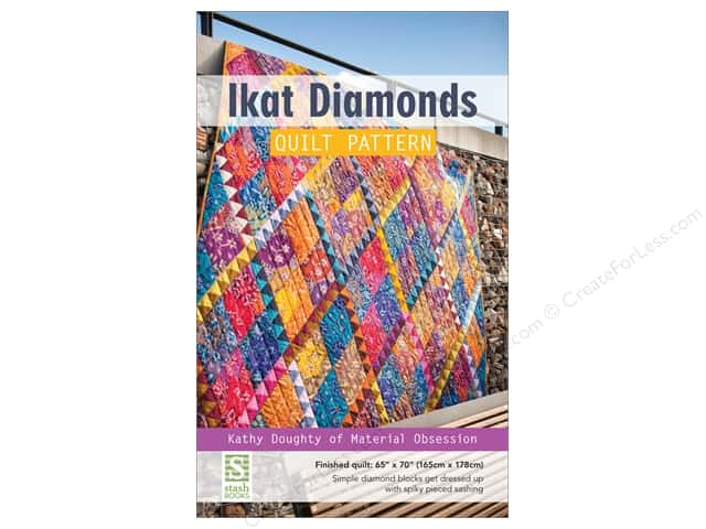 Stash By C&T Ikat Diamonds Quilt Pattern