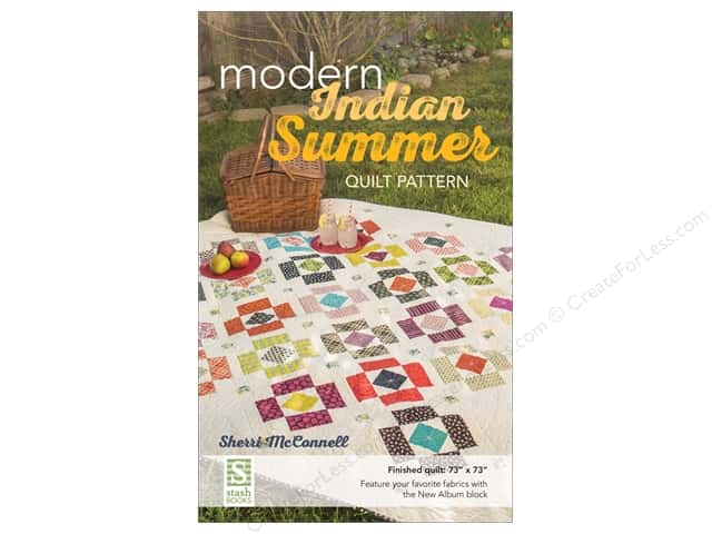 Stash By C&T Modern Indian Summer Quilt Pattern