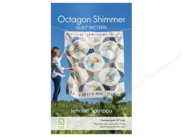 Stash By C&T Octagon Shimmer Quilt Pattern