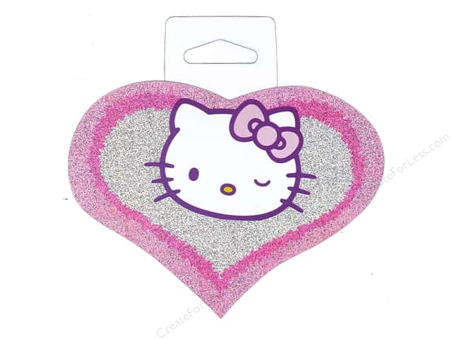 C&D Visionary Sticker Hello Kitty Heart