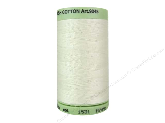 Mettler Silk Finish Cotton Thread 60 wt. 875 yd. #1531 Dew