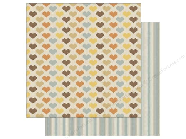 Authentique 12 x 12 in. Paper Nestled Hearty (25 sheets)