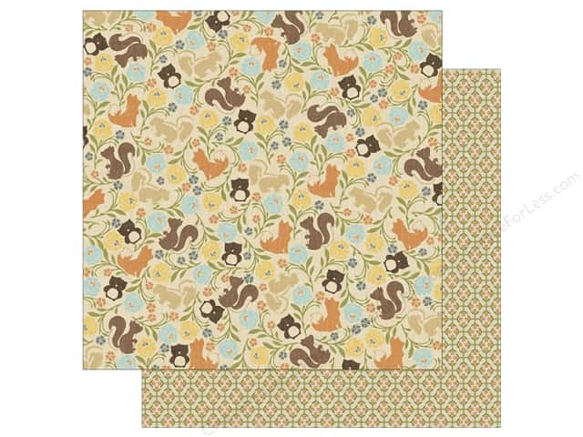 Authentique 12 x 12 in. Paper Nestled Scurry (25 sheets)