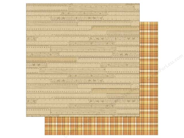 Authentique 12 x 12 in. Paper Nestled Comfortable (25 sheets)