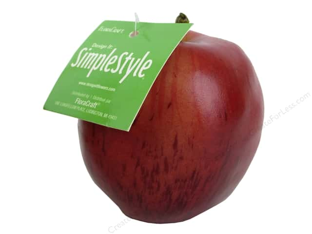 Floracraft SimpleStyle Decor Apple Red