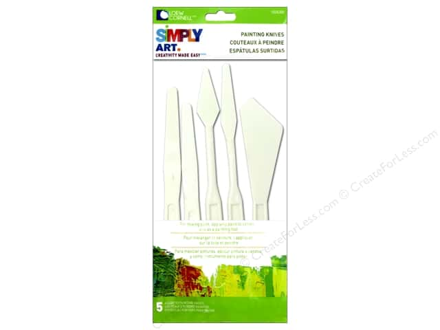 Loew Cornell Simply Art Painting Knives 5pc