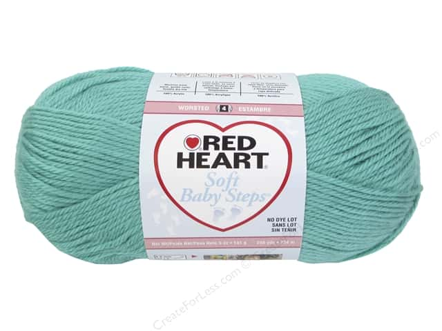 Red Heart Soft Baby Steps Yarn #9530 Jadie 256 yd.