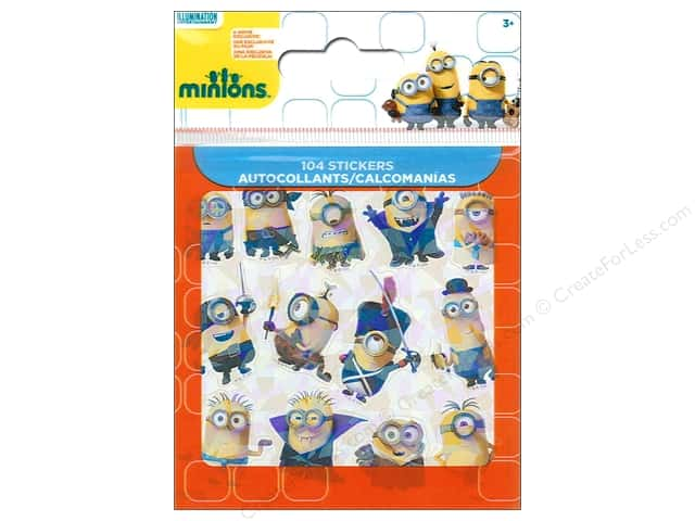 SandyLion Sticker Bitty Bits Universal Studios Minions Movie