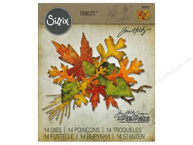 Sizzix Thinlits Die Set 14 pc. Fall Foliage