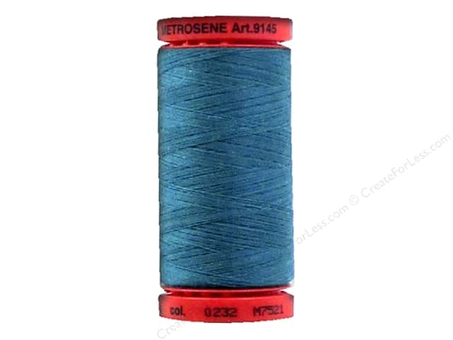 Mettler Metrosene All Purpose Thread 547 yd. #232 Truly Teal