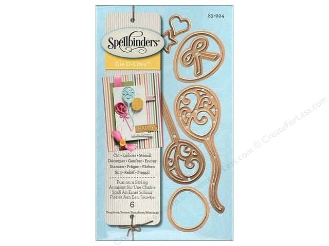 Spellbinders D-Lites Die Fun On A String