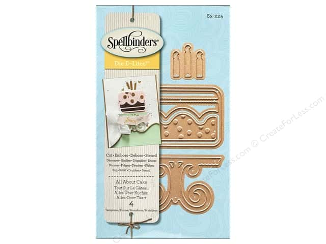 Spellbinders D-Lites Die All About Cake