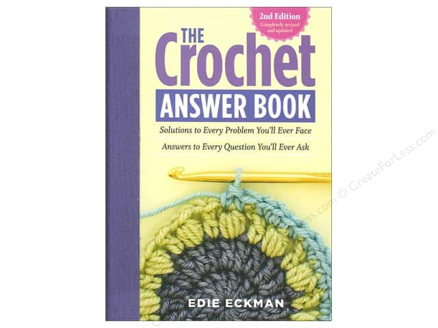 Storey Publications The Crochet Answer 2nd Edition Book