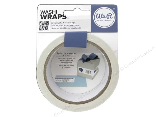 We R Memory Keepers Washi Wraps Everyday