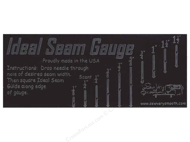 Sew Very Smooth Notions Ideal Seam Gauge